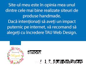 Magazin Online Handmade Oradea Testimonial